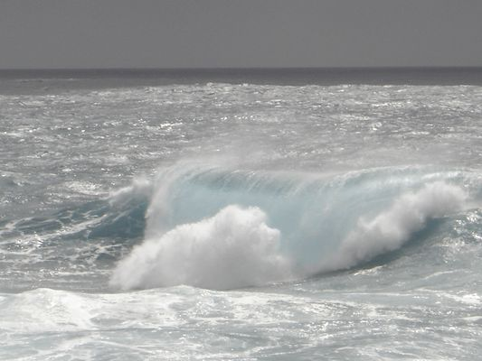 Une vague après l'orage