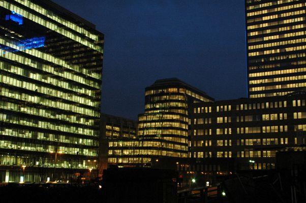 une ville illuminée ... Bruxelles