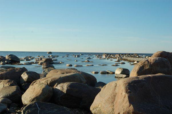Une vue d'une plage à Estonie