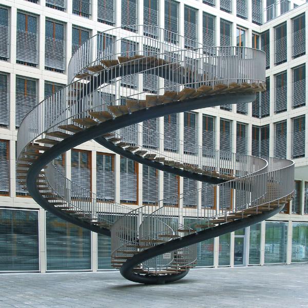 Treppen München unendliche treppe foto bild architektur architektonische