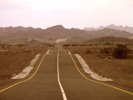 unendliche Weiten im Hatta Gebirge - Vereinigte Arabische Emirate
