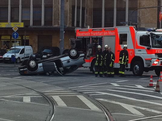 Unfall in Frankfurt am Main
