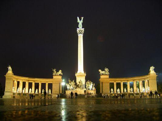 Ungarisches Nationaldenkmal, Budapest