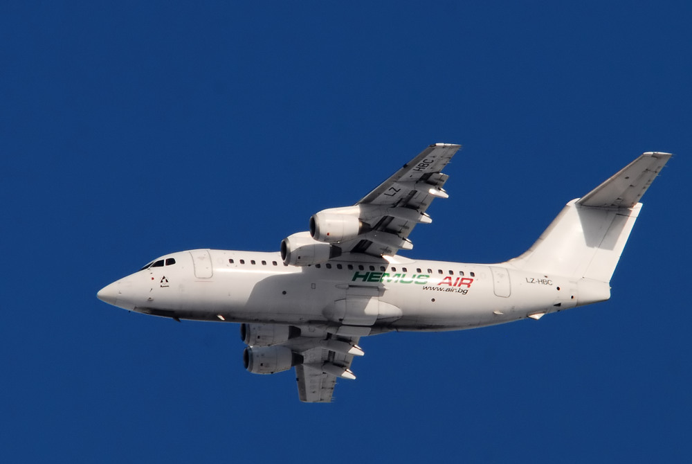 Ungewaschene BAe 146-200