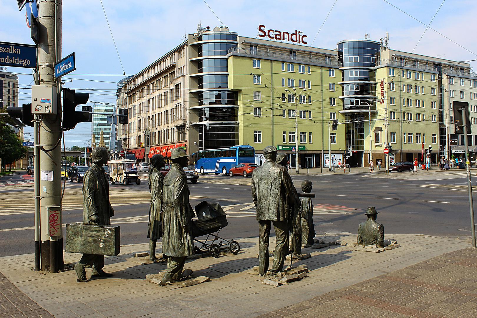 Ungewöhnliche Zeitgenossen in Wroclaw ( Breslau)
