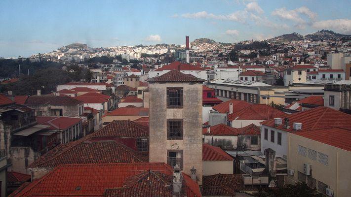 ungewöhnlicher Blick auf Funchal