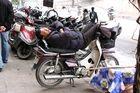ungewöhnlicher Schlafplatz in Hanoi
