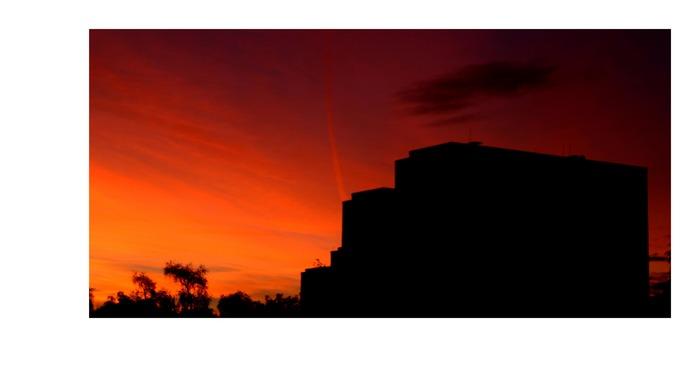 unglaublich schöner morgenhimmel in perlin valuata morgens um 6