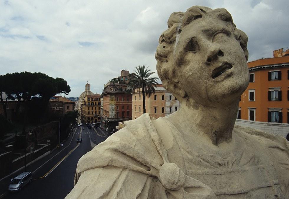 unglücklich in rom ......