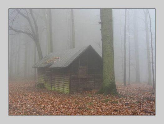 Unheimliche Hütte