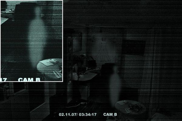 unheimliche Sichtung im Wohnzimmer