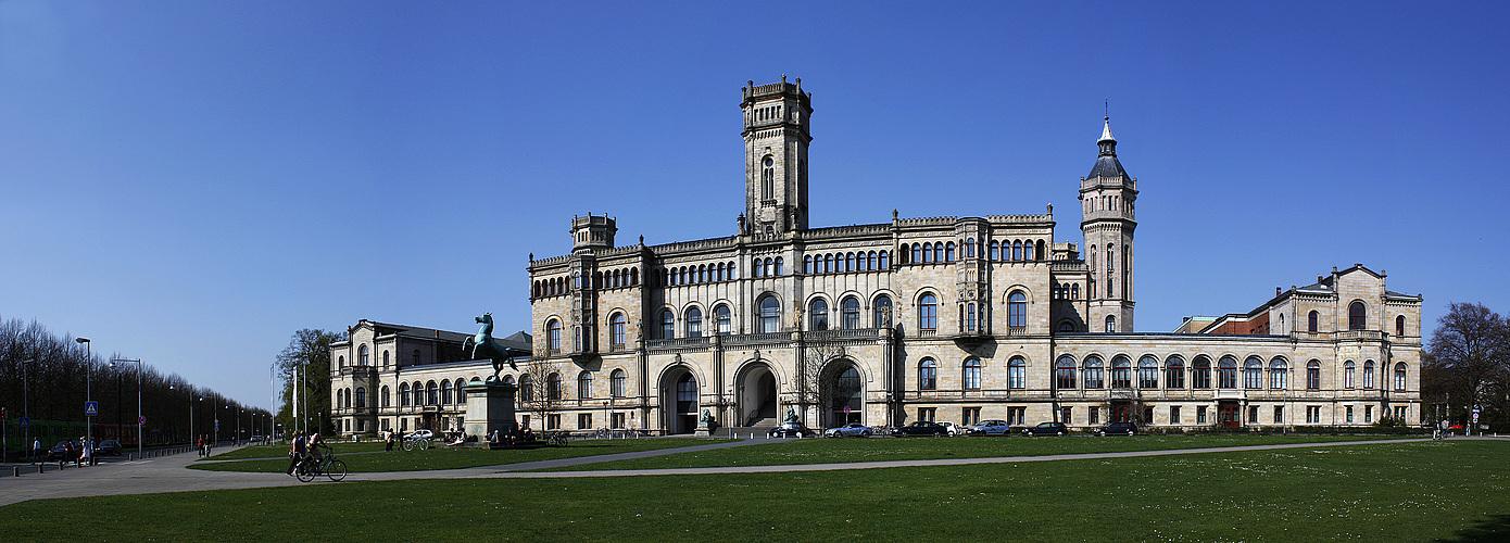 Uni hannover foto bild architektur motive bilder auf for Universitat architektur