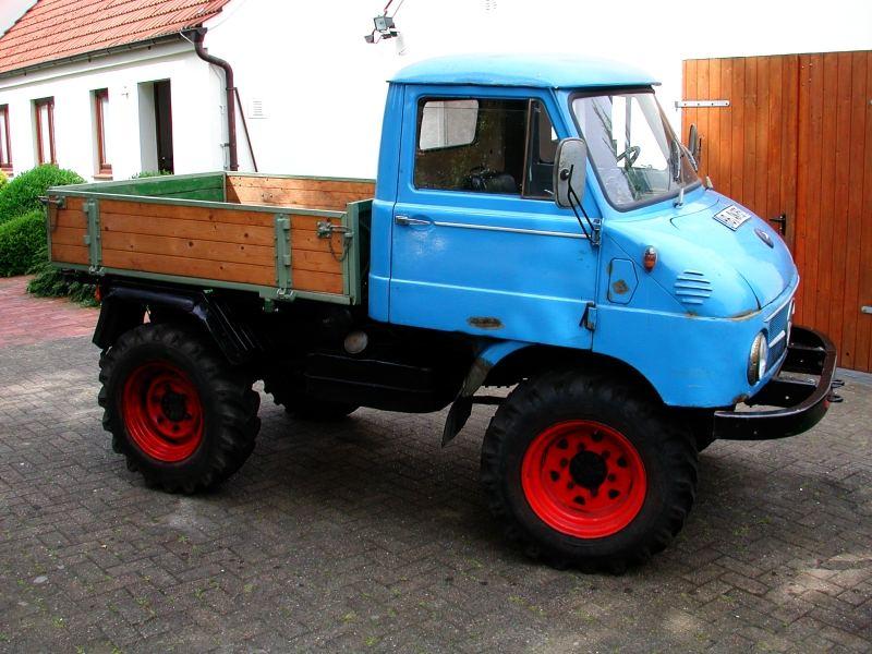 Unimog 411, Baujahr 1973