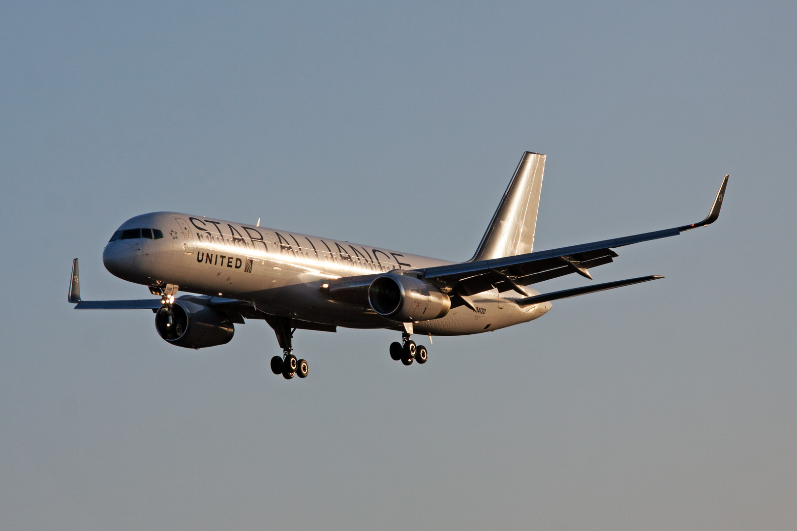 "United Airlines ""Staralliance"""
