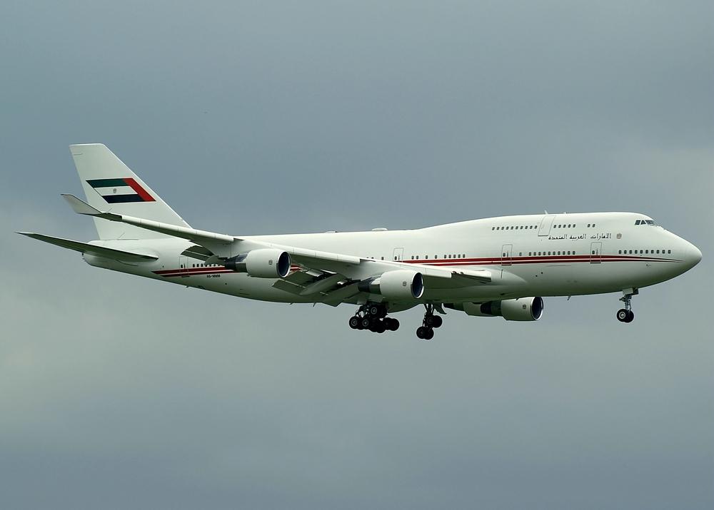 United Arab Emirates - Dubai Air Wing Boeing 747-422