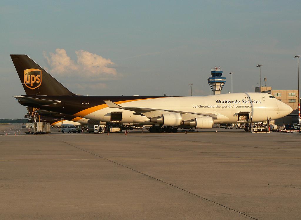 United Parcel Service (UPS) Boeing 747-44AF(SCD N574UP