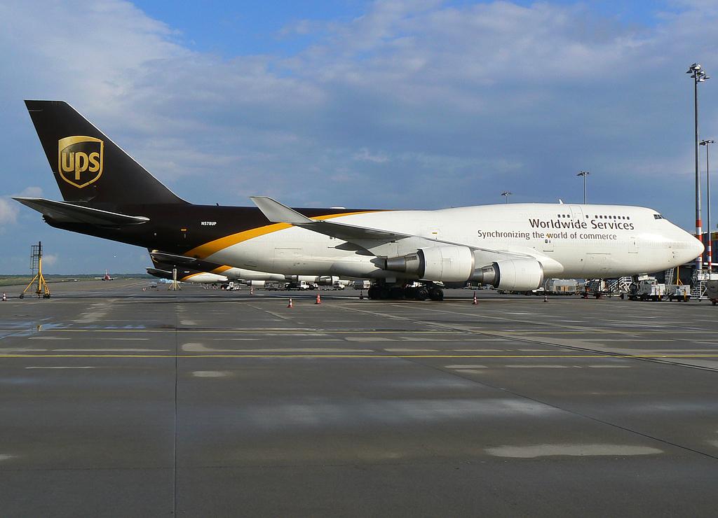United Parcel Service (UPS) Boeing 747-45E(BCF) N578UP #3