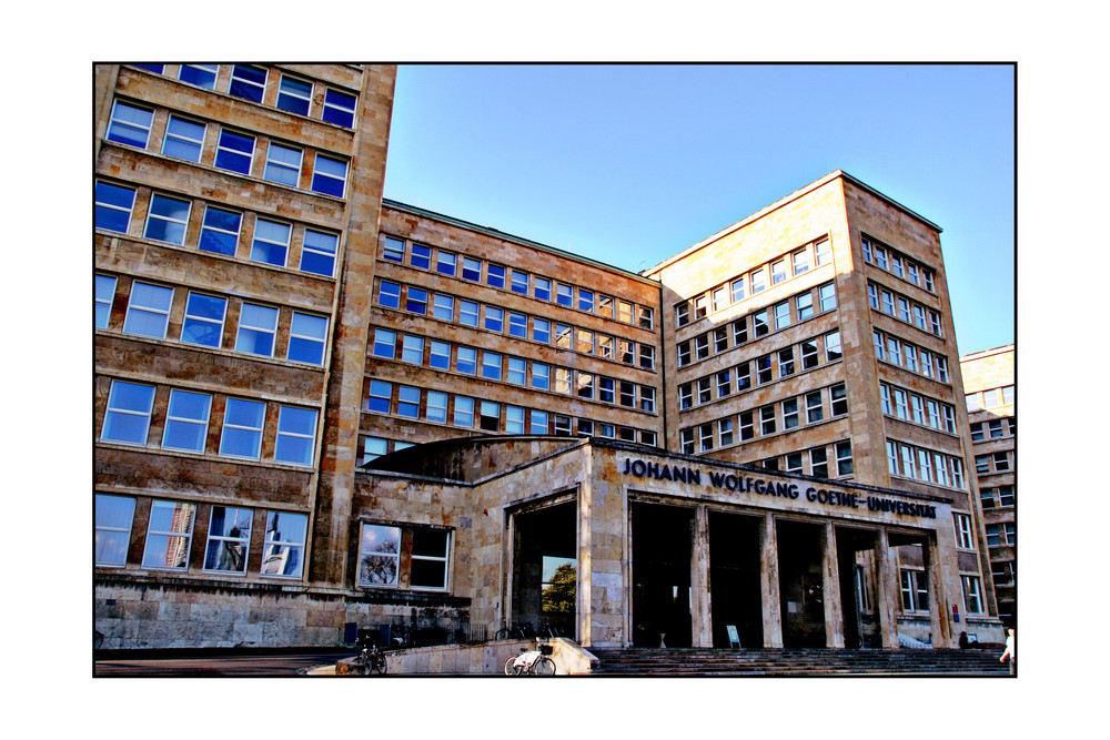 University Frankfurt (ex-IG Farben)