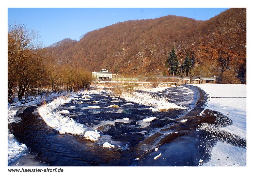 Unkelmühle in Alzenbach (Eitorf) im Winter