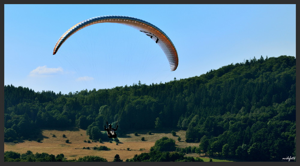 Unknown Pilot im Landeanflug am Rammelsberg