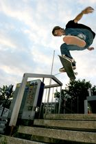 Unknown Rider Hbf Solingen-Ohligs / Kickflip