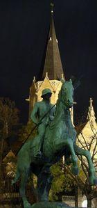 unmenschlicher Kampf um die Kirche