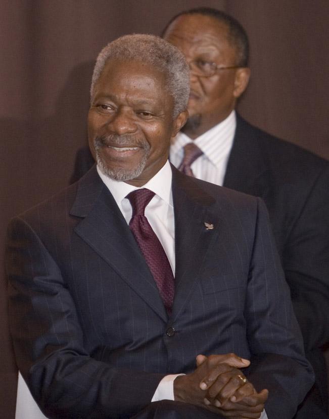UNO Generalsekretär Annan.2