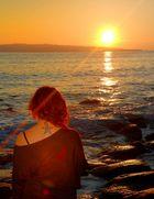 ...uno sguardo nell'infinito del tramonto...