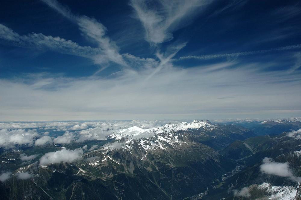 Uno sguardo sui monti