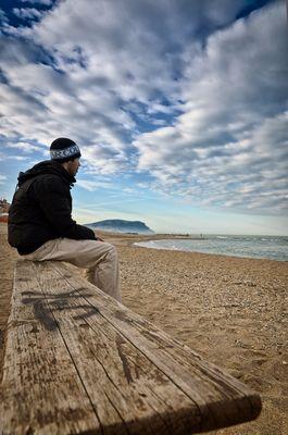Uno sguardo verso il mare