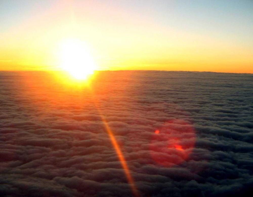 Un'occhiata sopra le nuvole