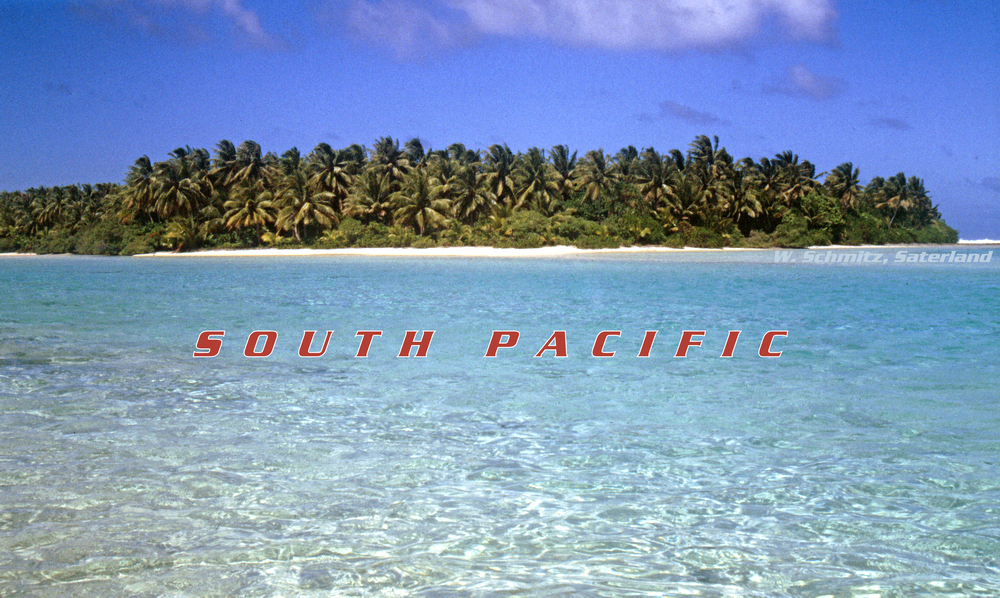 Unpeopled Pacific Atoll