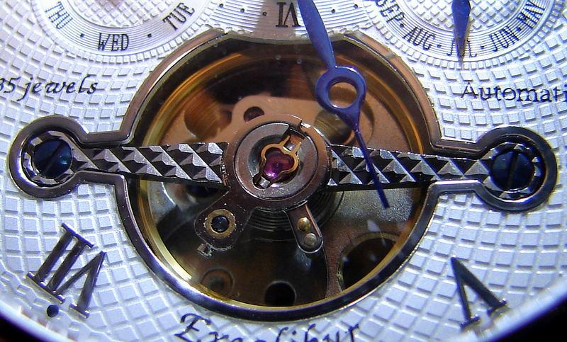 Unruhe einer Automatik Uhr