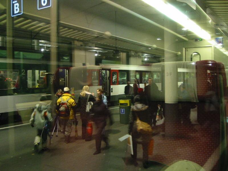 """""""Unruhe im Bahnhof Bern"""""""