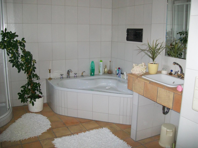 Unser Badzimmer auf dem Bauernhof