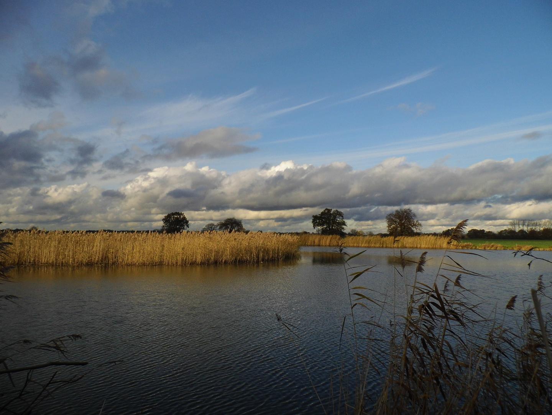 Unser Burgsee im Herbst