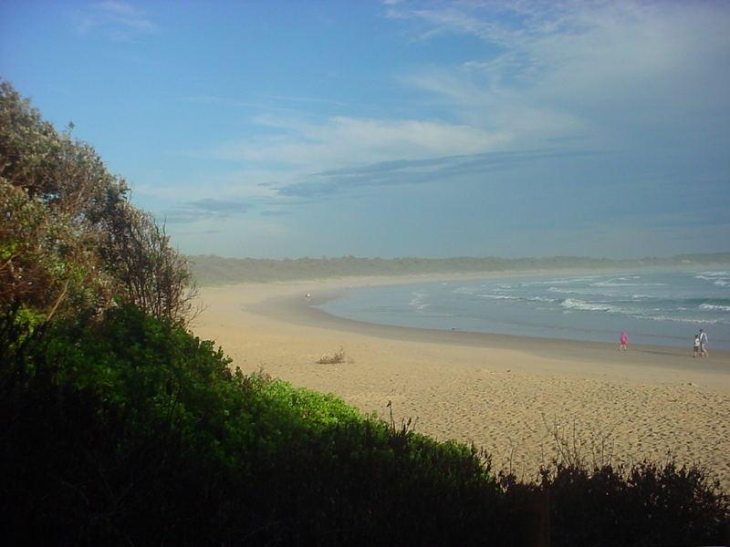 Unser Campingplatz in Point Plomer 450 km nördlich von Sydney