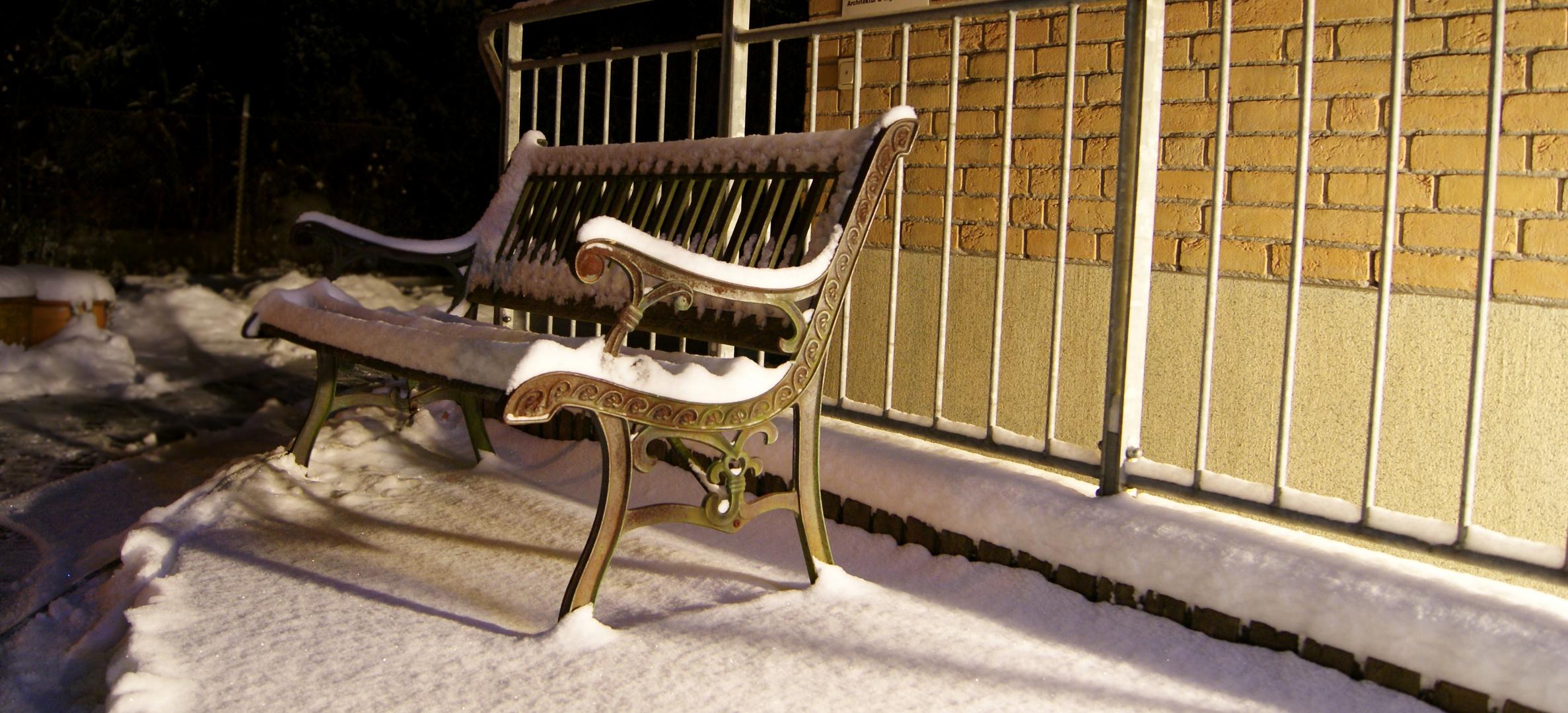 Unser erster Schnee 2010
