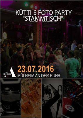 Unser Foto Party Stammtisch am 23.07.2016  ;-)