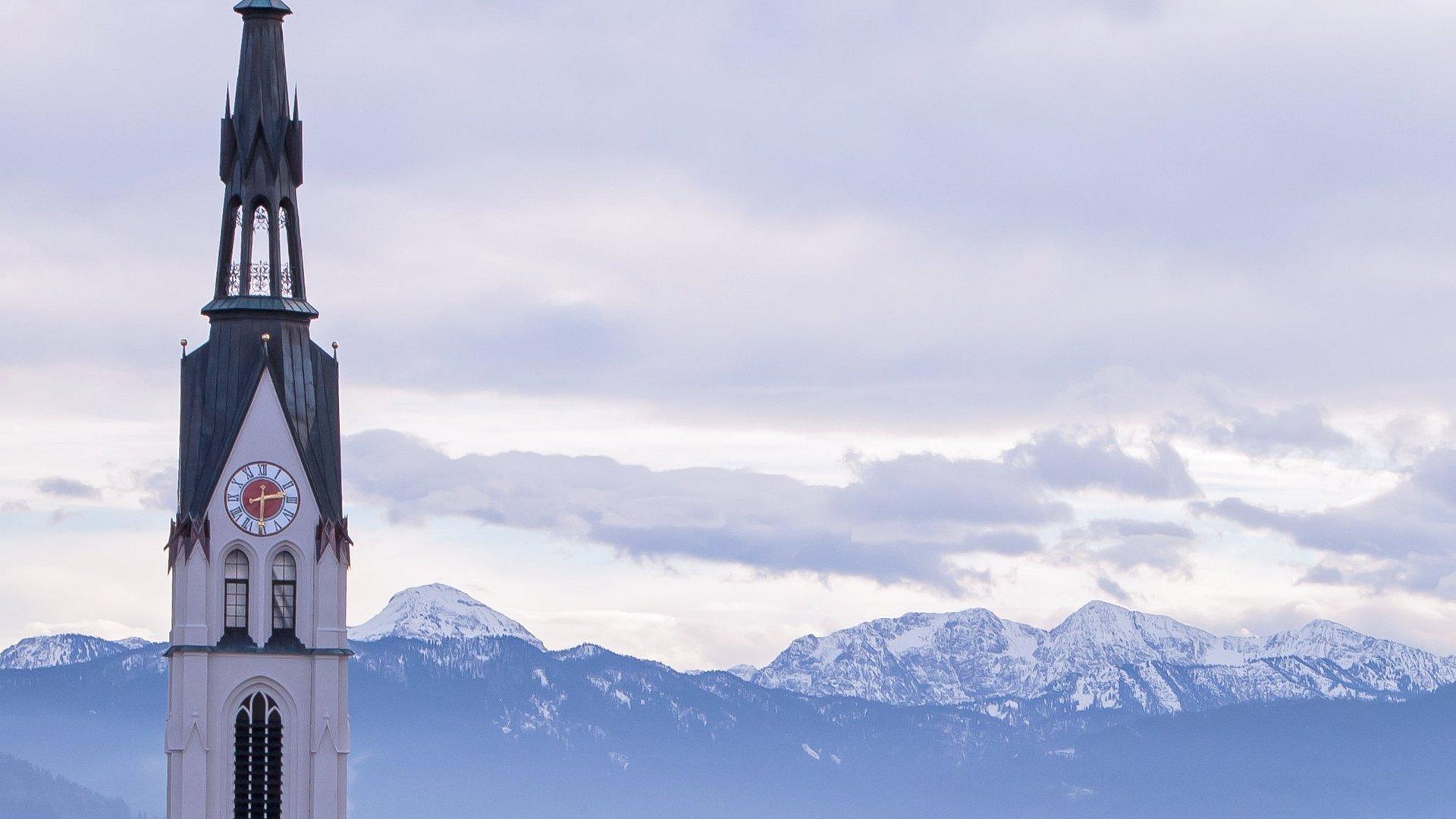 Unser frisch restaurierter Kirchturm