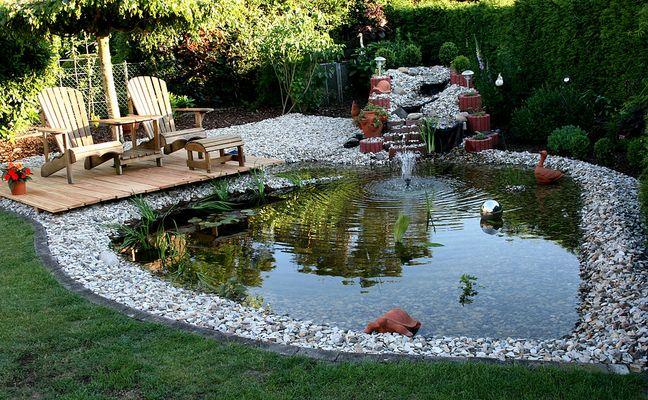 Unser Gartenteich