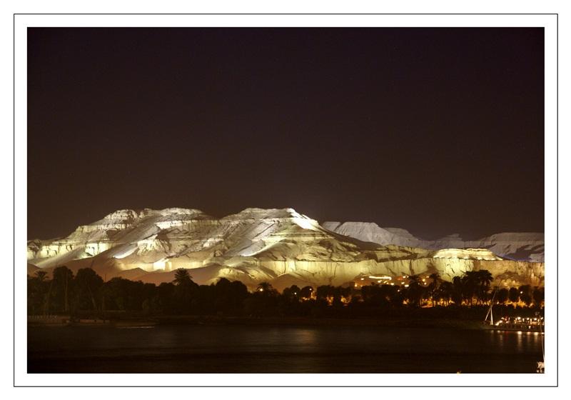 unser letzter Abend in Luxor