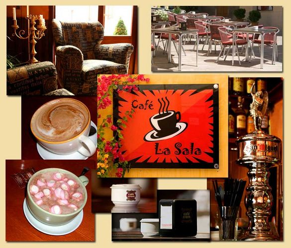 Unser Lieblings-Cafe - welcome back :-)