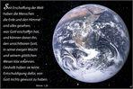 Unser privilegierter Planet ... Römer 1, 20