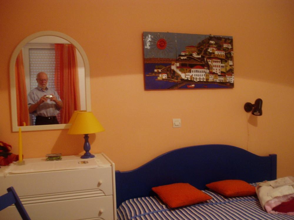 Unser Schlafzimmer in Athen-Drosia