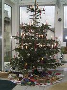 Unser schöner Weihnachtsbaum von 2006