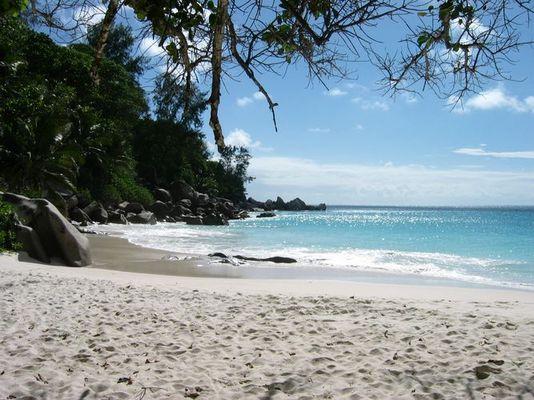 Unser schönstes, fast einsames Strand der Seychellen