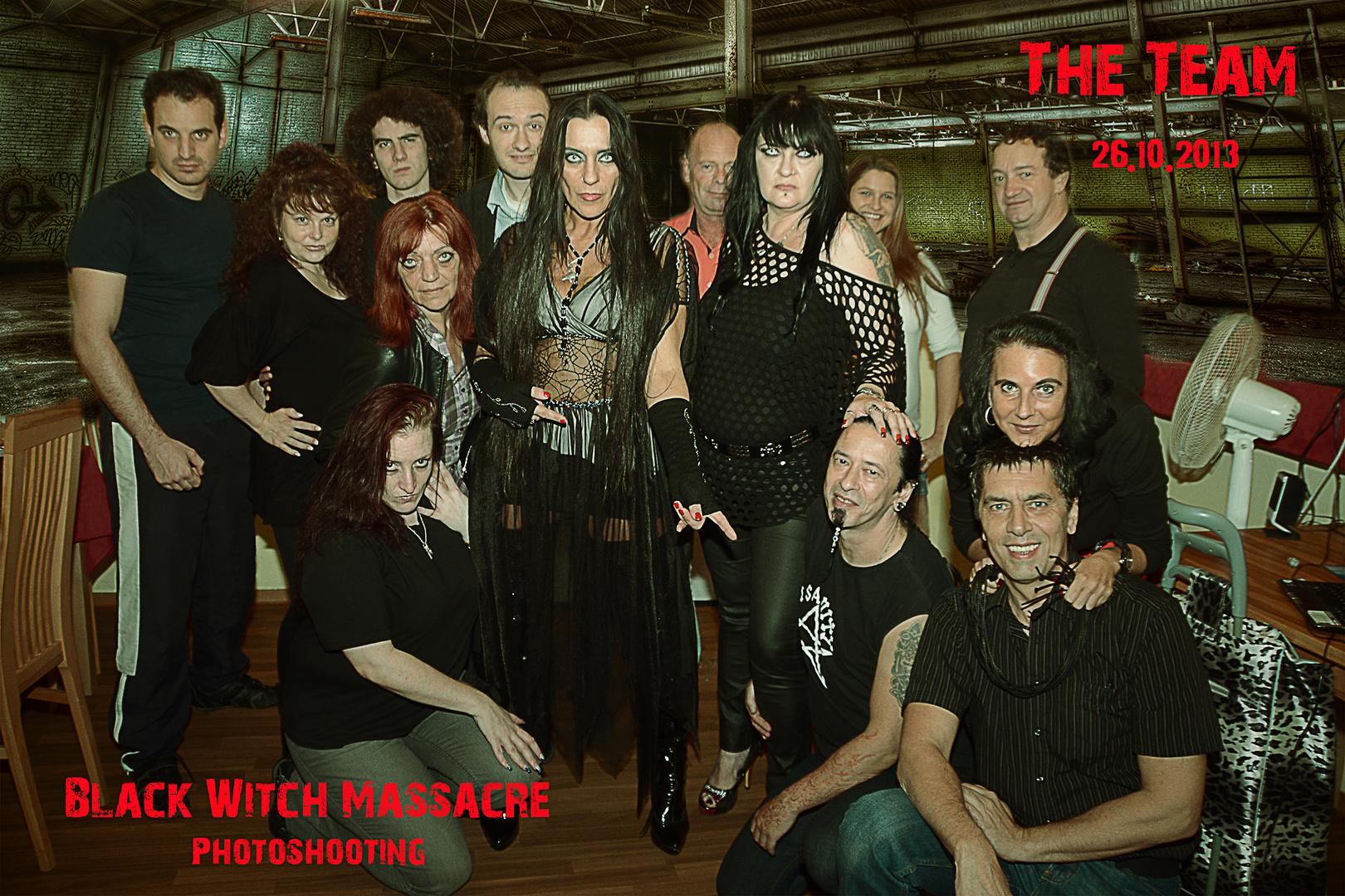 Unser Team beim Fotoshooting vom 26.10.2013