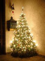 Unser Weihnachtsbaum (außen)