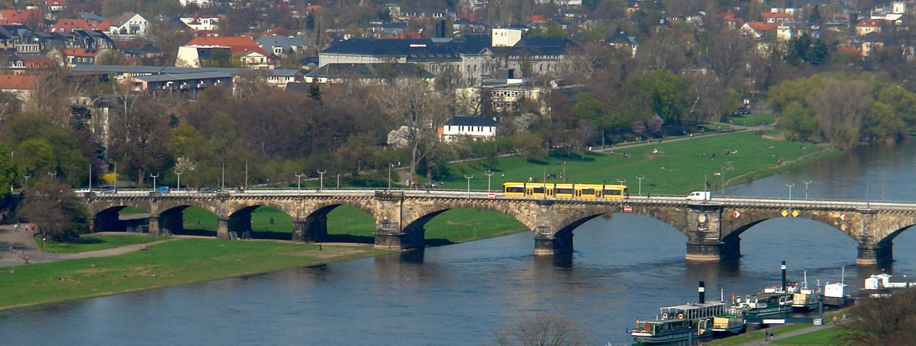 unsere Albertbrücke